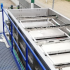 BIO DAF- FPAC 50 equipment manufactured by SIGMADAF for water treatment in a beef slaughterhouse.